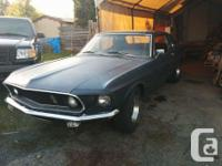 Make Ford Year 1969 Colour black Trans Automatic $7000