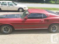 1969 mustang mach 1, 351 windsor motor personalized