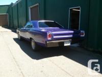 Make Plymouth Model Roadrunner Year 1969 Colour Purple