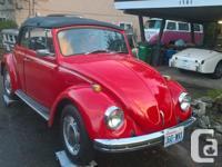 Make Volkswagen Model Beetle Convertible Year 1969
