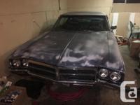 Make Buick Colour Blue Trans Automatic kms 48000 1969
