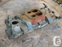 Factory cast iron intake manifold for 1970 Chevelle