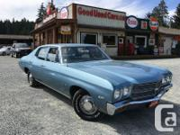Make Chevrolet Year 1970 Colour Blue Trans Automatic