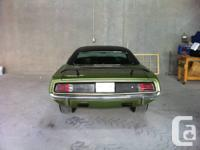 barracuda coupe 440, auto, 8.75 diff 355 , disc brakes.