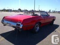 Make Oldsmobile Model Cutlass Supreme Colour Red Trans