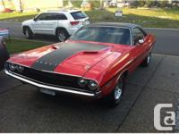 1970 Dodge Challenger R/T Price $31999 Mileage: 108,832
