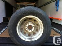 1970 Dodge rally wheel and tire Have this dodge rally