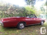 Make Pontiac Model Parisienne Year 1970 Colour Red