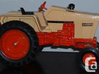 1970's Situation 1270 Agri King tractor, 451 Turbo.