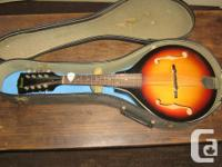 1970s Ibanez Artist Model #511 Mandolin. Sunburst, used for sale  British Columbia