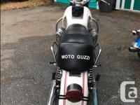 Make Moto Guzzi Year 1971 California bike, new