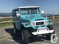 Make Toyota Model Land Cruiser Year 1971 Colour 1957