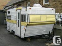 Cute Triple E camper trailer-- 13 feet long (15 feet