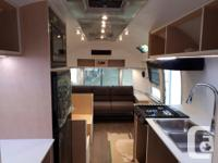 Fully restored and customized Airstream. Please visit