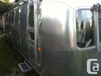 1972 Airstream Ambassador-28 feet. Constantly really