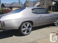 Make Chevrolet Model Chevelle Year 1972 Colour Gunmetal