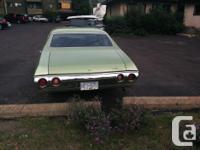Make Chevrolet Model Malibu Year 1972 Colour Green kms