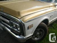 Make GMC Model Sierra Year 1972 Colour Gold kms 89000
