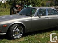 1972 Jaguar Collection One XJ6 Job Vehicle.  I have