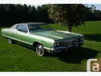 Make Mercury Model Grand Marquis Colour GREEN Trans