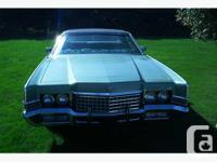Colour GREEN Trans Automatic kms 38000 1972 MERCURY