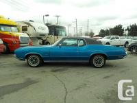 Make Oldsmobile Model Cutlass Year 1972 Colour Blue