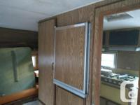 13 foot Travel trailer for sale I lived in it till last