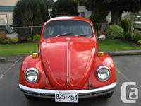 1972 VW Beetle Completely restored; new transmission ,