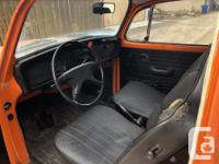 Make Volkswagen Model Beetle Year 1972 Colour Orange