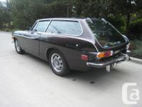 Make Volvo Model 1800 Year 1972 Colour Brown Trans