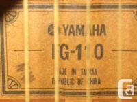 Here is a rare and hard to find 1972 Yamaha FG 110 Tan