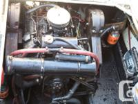 1973 Bayliner twin 350 chev rebuilds with some rust but