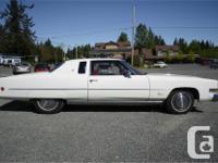Make Cadillac Model Eldorado Year 1973 Colour White