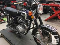 Make Honda Model Cb Year 1973 kms 11000 Almost mint