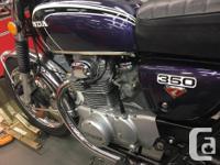 Make Honda Model Cb Year 1973 kms 11000 Almost mint