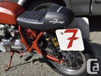1973 Honda CB 350 Four Has 400cc Honda Four motor as