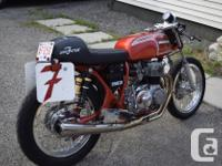 1973 Honda CB 350 Four Has 400cc Honda Four motor as