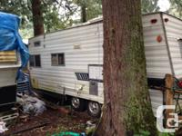 trailer is at my campground 10 mins from Hope in the