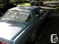 Make Pontiac Year 1973 Colour Blue Trans Automatic kms