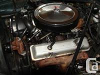 British Racing Green. Conversion to 350 Chev engine