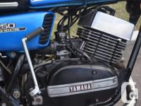 1973 Yamaha RD 250 Big bore RD 350 top end fitted 2