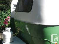 Vintage 13' Boler that sleeps 4. Comes with propane