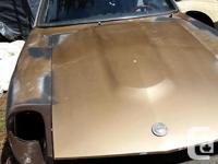 Make Nissan Model Datsun/Nissan Z-car Colour Brown