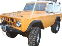 This 1974 ford bronco has undergone a complete