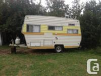 1974 14-16ft Travel trailer must sell quick, 4 new