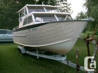 1975 Starcraft 22ft. Islander w/140 hp Mercruiser I-O