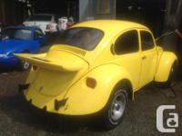 Make Volkswagen Model Beetle Year 1975 Colour Yellow