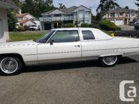 Used, Make Cadillac Model Coupe De Ville Year 1975 Colour for sale  British Columbia