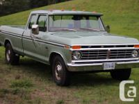 Make Ford Model F-350 Year 1975 Colour Green Trans