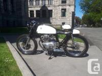 1975 Honda cb200 cafe racer with only 10176 miles. New
